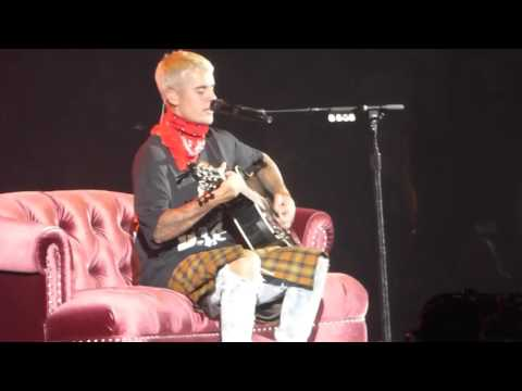 Justin Bieber - Fast Car (Cover) - Royal Farms Arena, MD