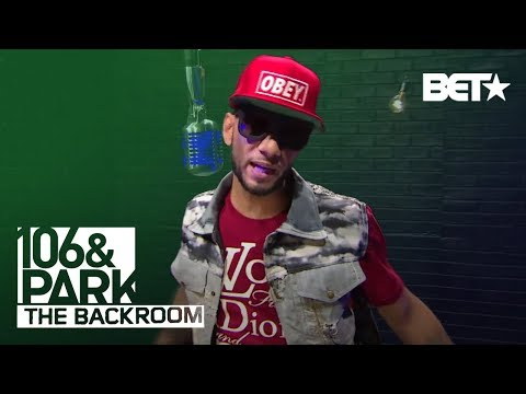 Swizz Beatz BET 106 & Park Backroom Freestyle!
