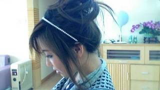 One of bubzbeauty's most viewed videos: Quick Messy Updo Bun