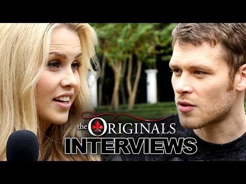 "Joseph Morgan & Claire Holt Tease ""The Originals' Season 1 & Talk ""The Vampire Diaries"" Differences"