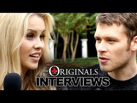 Joseph Morgan & Claire Holt Tease The Originals † Season 1 & Talk The Vampire Diaries Differences