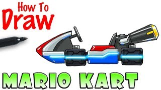 How to Draw Mario Kart Racer