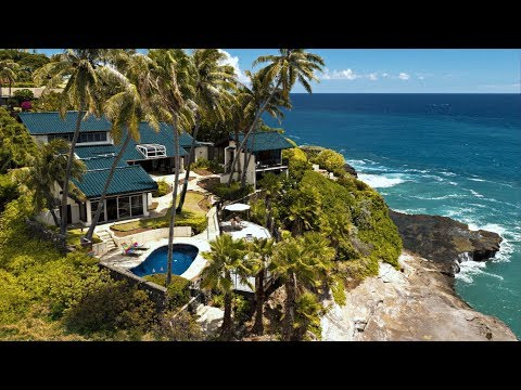 Hawaii Luxury Oceanfront Estate in 4K