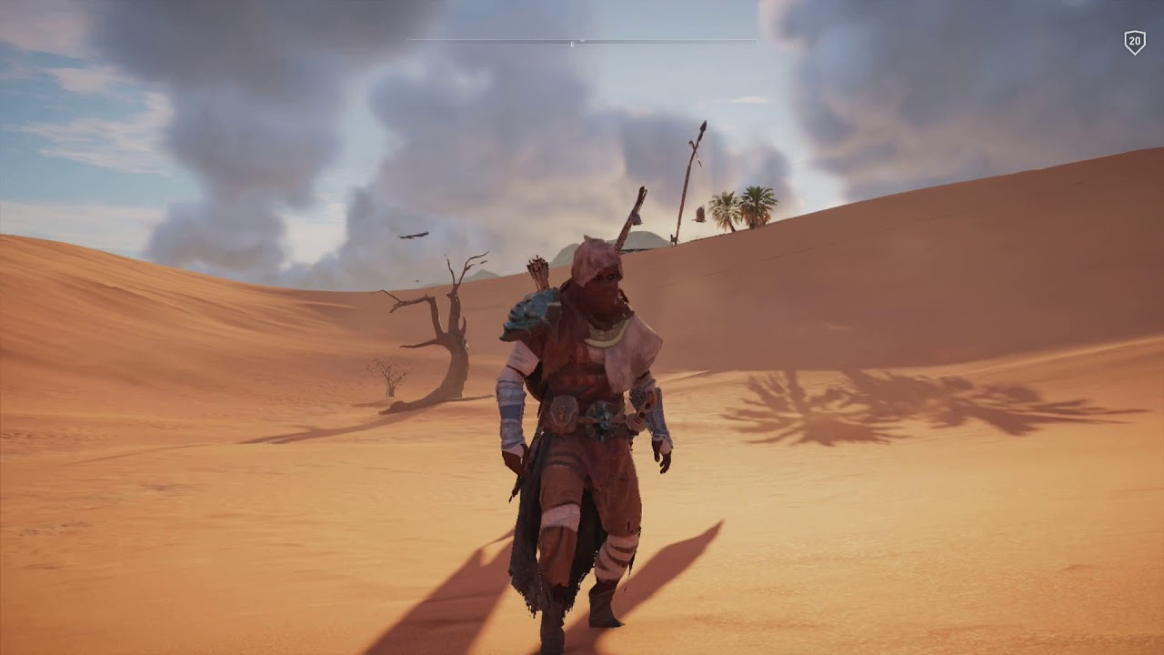In S Creed Origins Sea Of Sand Papyrus Puzzle Location