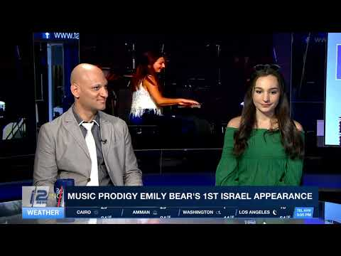 Music Prodigy- Emily Bear and Eli Degibri--Quincy Jones