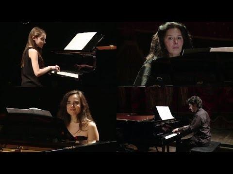concierto para 4 pianos [Eng sub] (Karin Lechner, Natasha Binder, Lyl Tiempo, Sergio Tiempo)