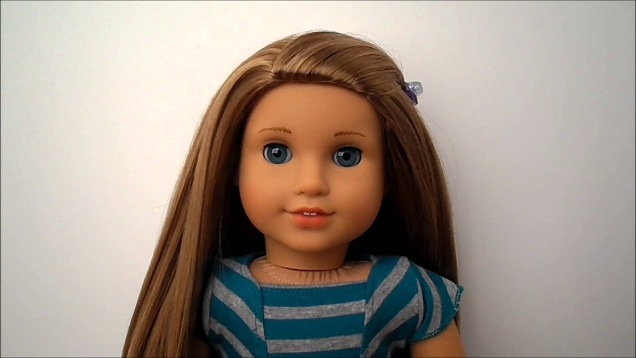 Review Of American Girl Doll Mckenna Youtube