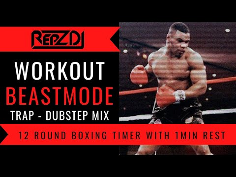 �� REPZ DJ Workout Mix / Motivation Mix / With Boxing Countdown Timer ��