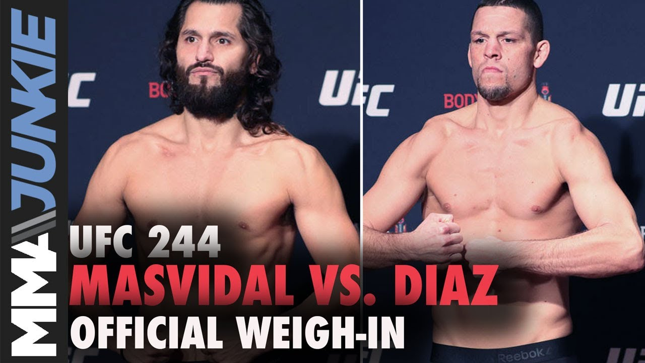 Masvidal Vs Diaz