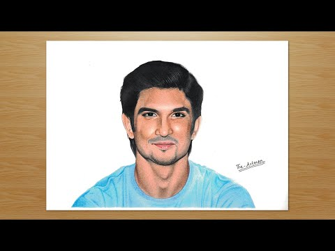 Drawing Sushant Singh Rajput | A tribute to the most talented actor. from YouTube · Duration:  4 minutes 18 seconds