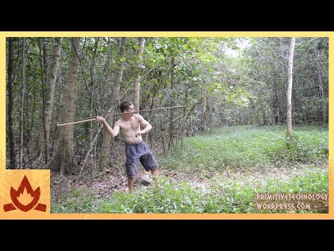Thumbnail: Primitive Technology: Spear Thrower