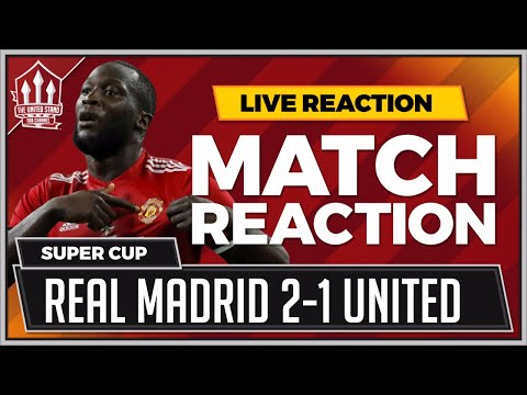 Manchester United 1-2 Real Madrid | LUKAKU Goal Not Enough a