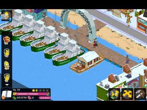 Обзор игры на андроид Симпсоны Springfield