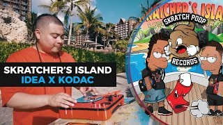 dj idea x kodac visualz present skratchers island 5 portablist scratch video