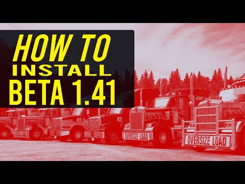 Deprecated: How To Install The Experimental Beta 1.41 American Truck Simulator (Convoy) Multiplayer