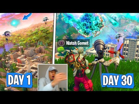 """NEW """"SEASON 4 Starts"""" After """"METEOR"""" Hits Tilted Towers In Fortnite Confirmed By Epic! (MUST SEE!)"""