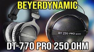 Beyerdynamic DT-770 Pro 250 ohm Ω UNBOXING & SETUP !