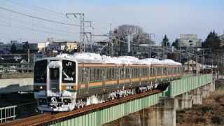 信越本線普通列車 125M