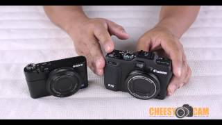Canon Powershot G15 vs Sony RX100 Overview