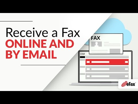 How To Receive a Fax Online Through Email or eFax Message Center