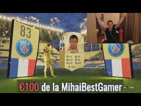 MIHAI IMI DONEAZA 100 EURO SI MBAPPE IN PACK-URI !!! SUPER DRAFT LIVE / FIFA 18 în ROMÂNĂ