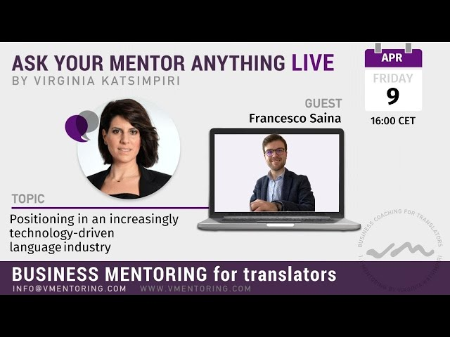 Ask Your Mentor Anything with Virginia Katsimpiri FT. Francesco Saina