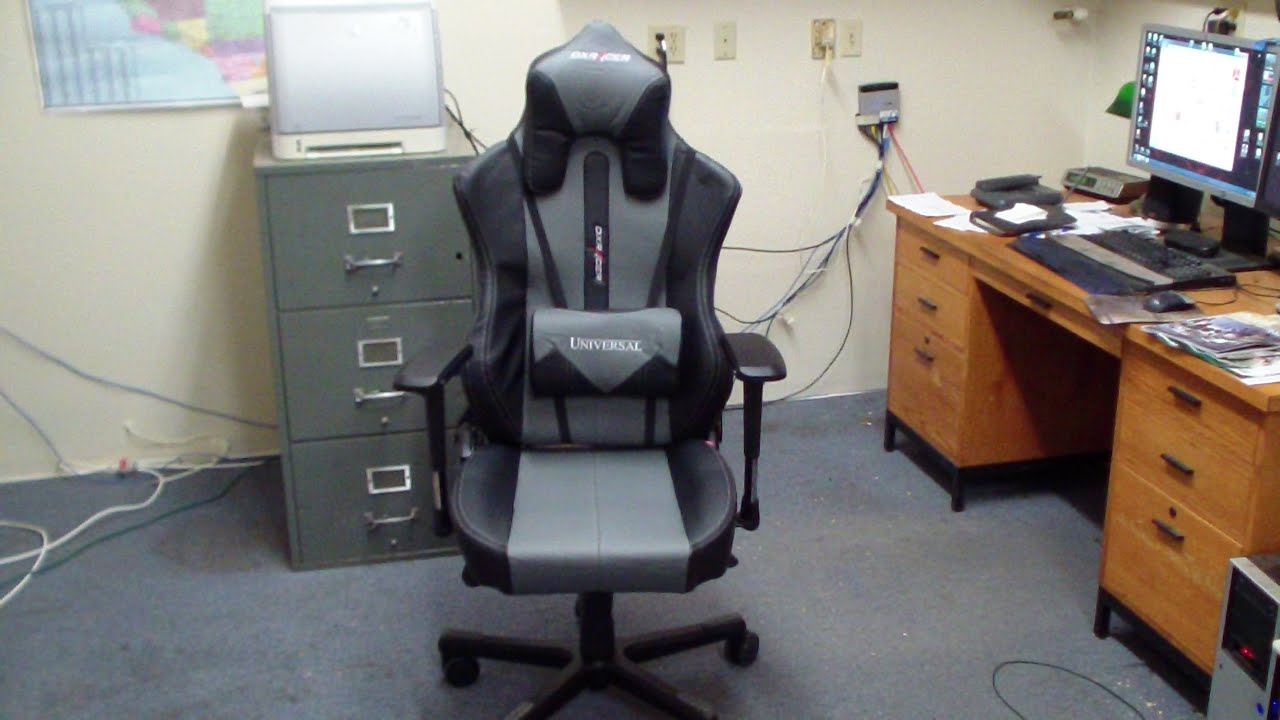Dxracer Uy55 Ng Gaming Chair Assembly And Review Youtube