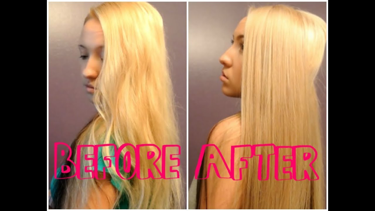 remove yellow bleach