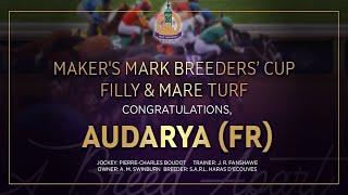 Vidéo de la course PMU MAKER'S MARK BREEDERS' CUP FILLY AND MARE TURF