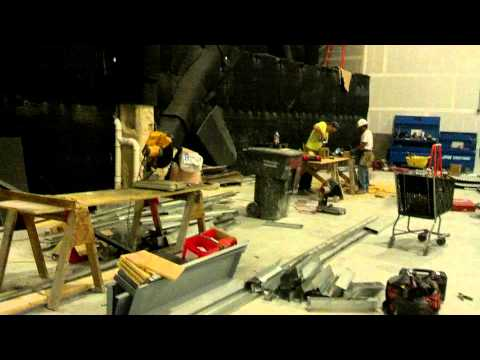 Raw: Exclusive Look Behind The Scenes Of IMAX Theater Construction At Destiny USA