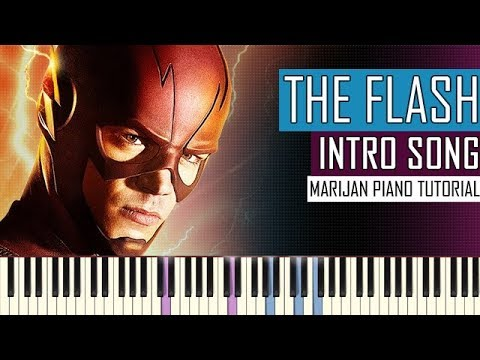 How To Play: The Flash - Intro Song Theme | Piano Tutorial