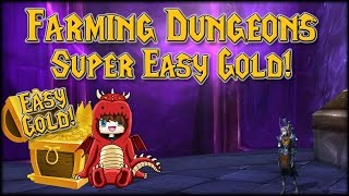 Easy Gold Farming Dungeons!