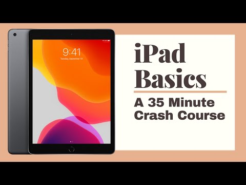 iPad Basics Full iPad Tutorial   A 35-Minute Course for Beginners and Seniors on How to Use an iPad