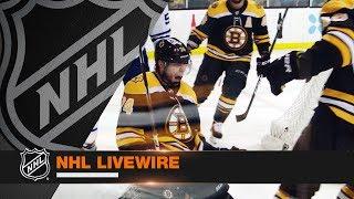NHL LiveWire: Leafs, Bruins mic