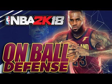 NBA 2K18 On Ball Defense Tutorial: Shutdown The Blowby Animation!