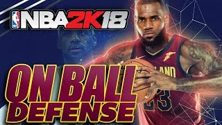 NBA 2K18 On Ball Defense Tutorial: Shutdown the Blowby Animation!