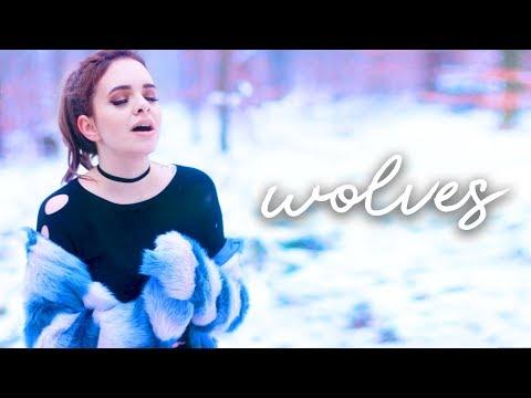 Cover Lagu Selena Gomez, Marshmello - Wolves (Cover) 🐺 | Alycia Marie STAFABAND