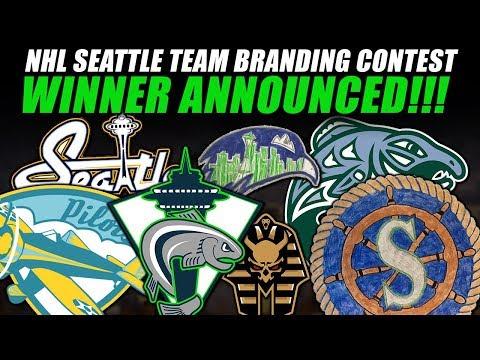 NHL Seattle Team Branding Contest Winner Announced!