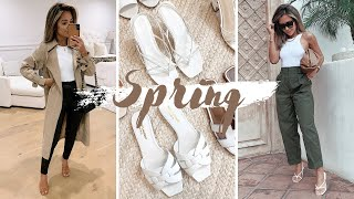 Things I've Been Buying For Spring | Neutrals From Zara, Aritzia, Asos, Mango