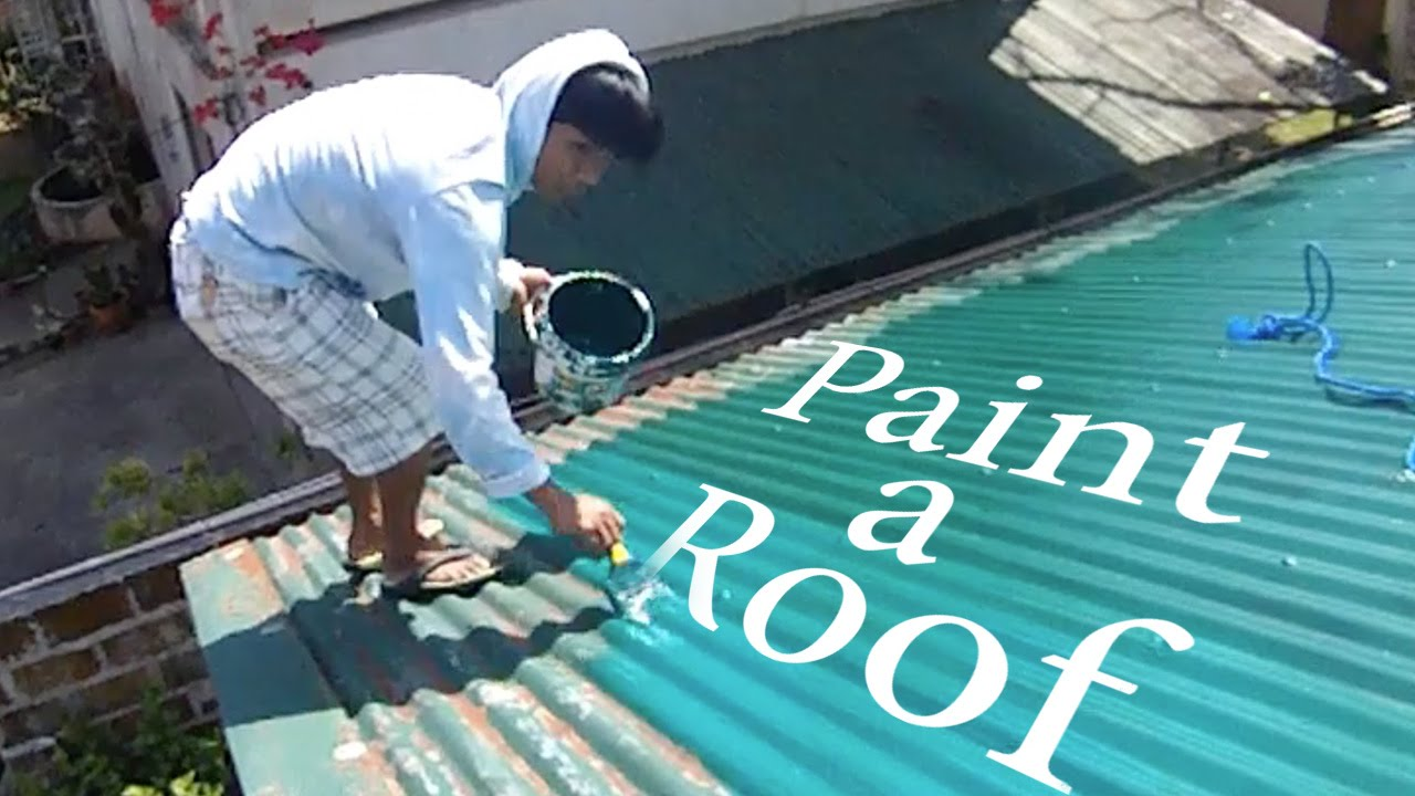 How To Paint A Roof In The Philippines? (Lambang)   By OrDub   YouTube