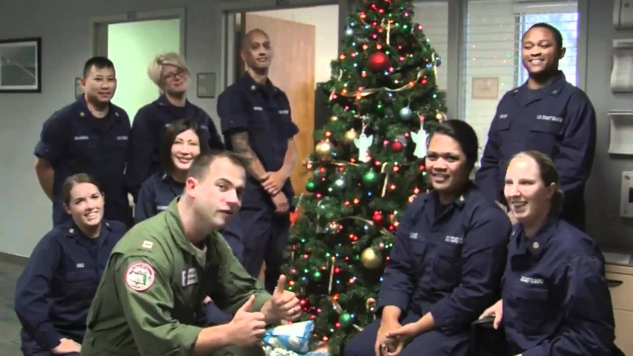 A Christmas Carol: Marines, Sailors, Soldiers, & Airmen wish you Happy Holidays