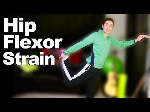 Hip Flexor Strain Stretches & Exercises Ask Doctor Jo