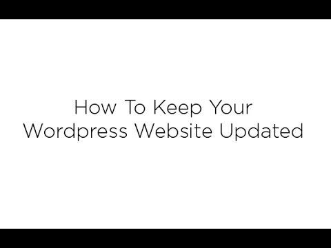 How To Update Your Wordpress Website 2017