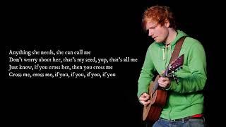 Baixar Cross me  -  Ed Sheeran ( Lyrics)