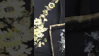 페션페인팅 이명희 꽃그리기