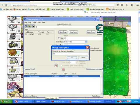 hack plants vs zombies 2 bang cheat engine - Hacks Plants vs Zombies bằng Cheat Engine 6.5
