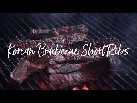 Quick marinade for korean short ribs