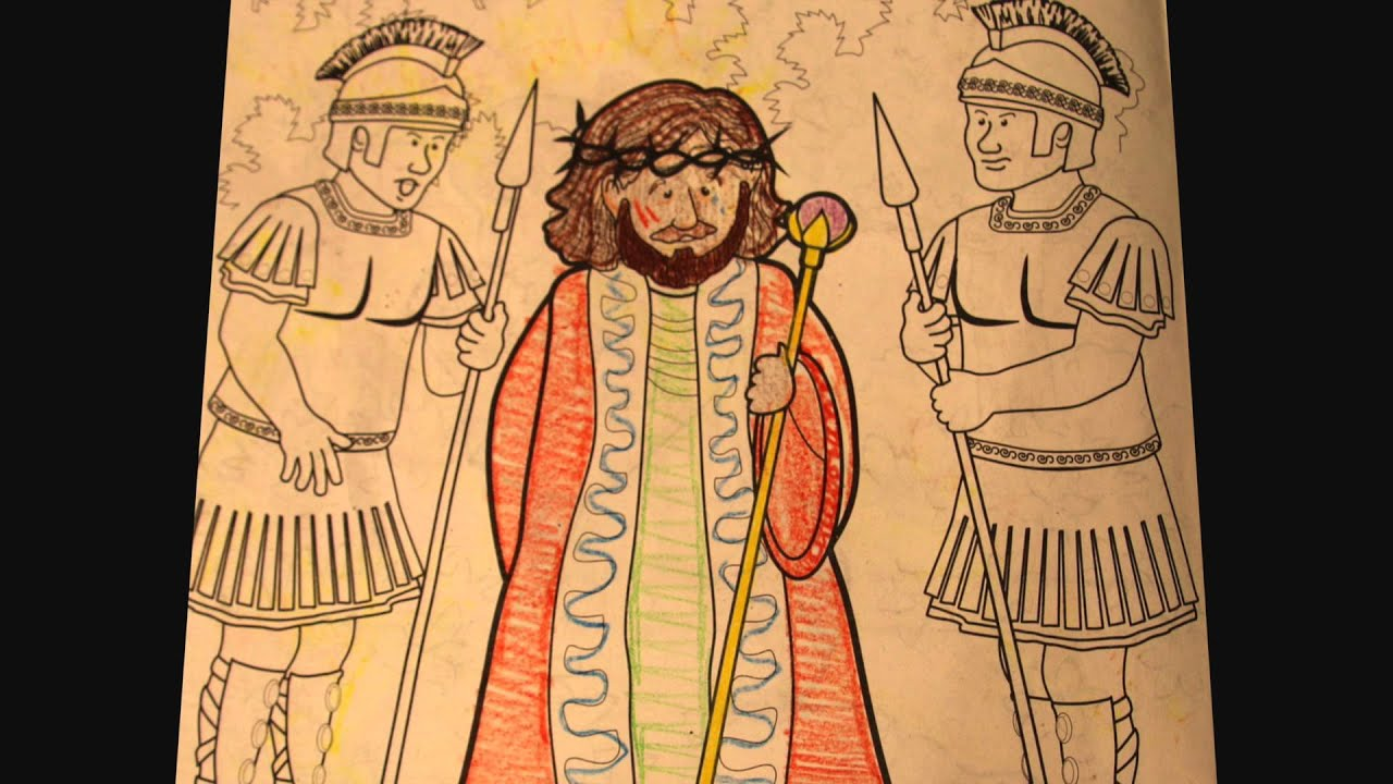 Easter Story Coloring Book