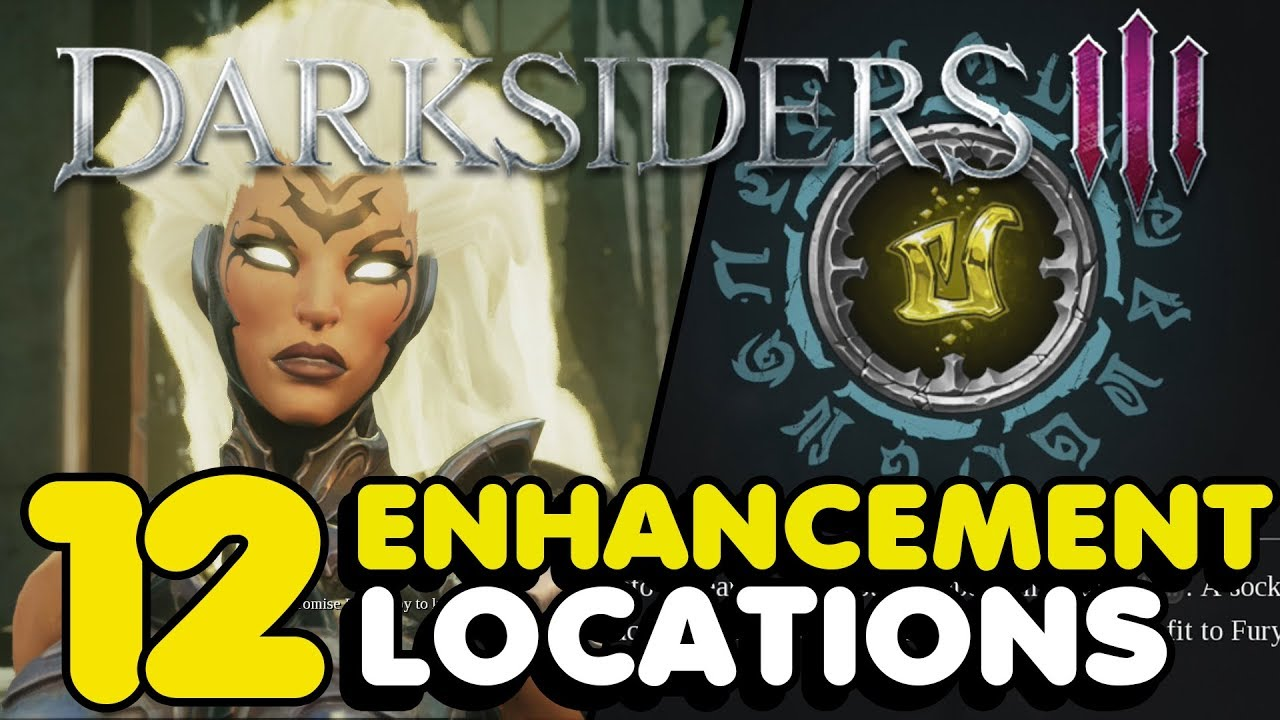 Darksiders 3 All Weapon Enhancement Locations Guide - YouTube