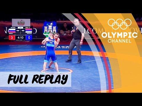 RE-LIVE   Wrestling Day 5   European Championships   Finals Greco-Roman